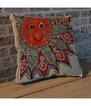 Alton Sun Left pillow-Decorative Elements