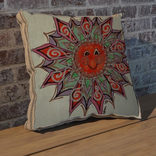 Alton Sun Full pillow-Decorative Elements