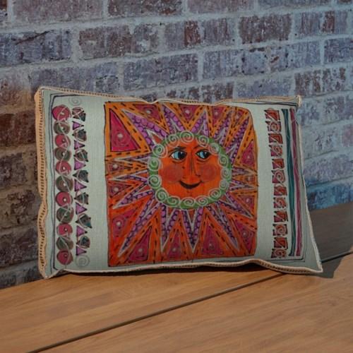 Alton Sun Orange pillow -Decorative Elements