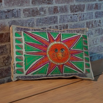 Alton Sun Green pillow-Decorative Elements