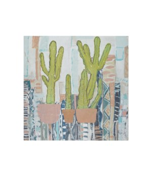 3 Cacti -Botanicals and Floral