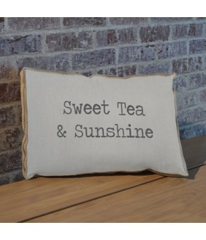 Sweet tea pillow
