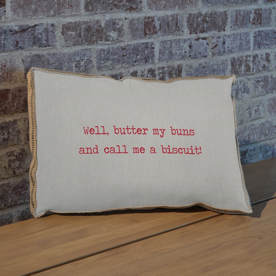 Butter my buns pillow