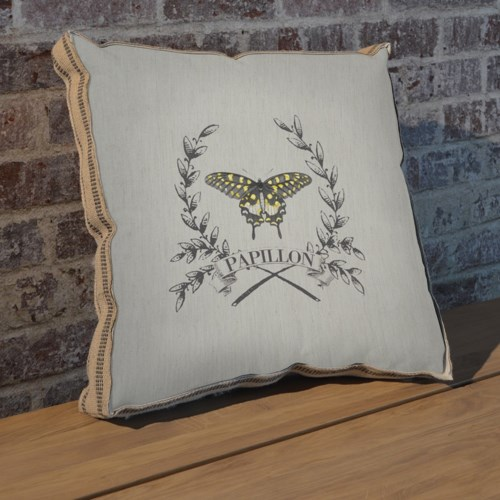 Papillion pillow
