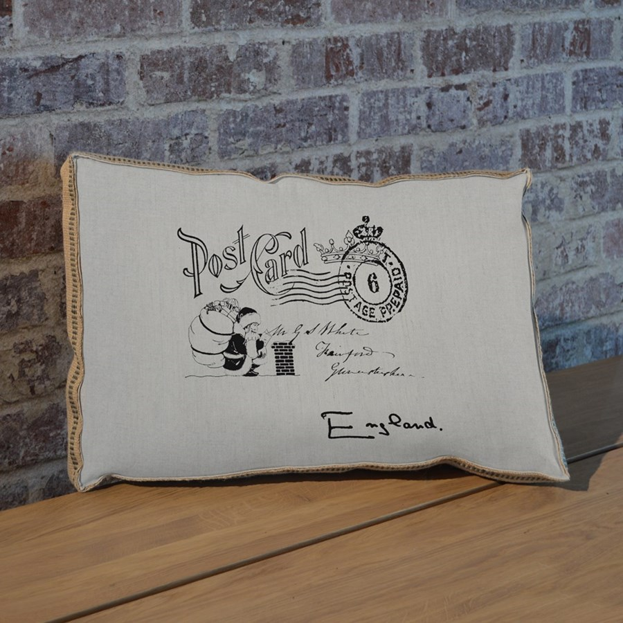 Santa Postcard pillow