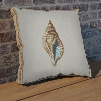 Shell B pillow-Coastal and Tropical
