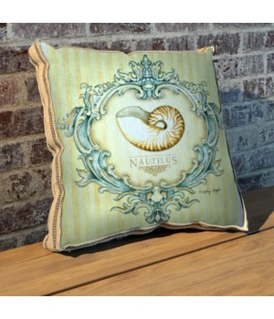 Coastal Life II PIllow-Coastal and Tropical