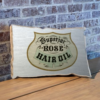 Rose hair oil pillow-Fashion and Figurative