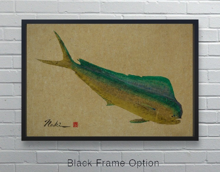 1909 - Naoki Art Collection Hemp Panel-Animals and Nature