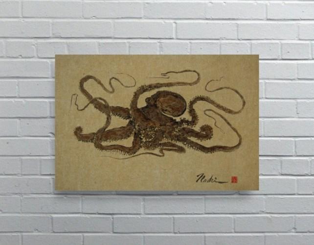 1926 - Naoki Art Collection Hemp Panel-Animals and Nature