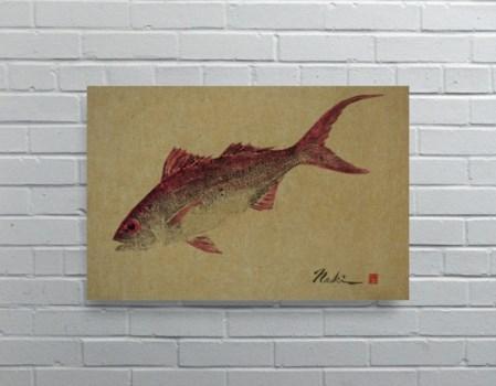 1927 -Naoki Art Collection Hemp Panel -Animals and Nature
