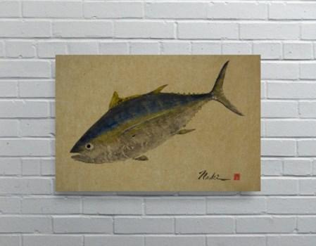 2708 -Naoki Art Collection Hemp Panel-Animals and Nature