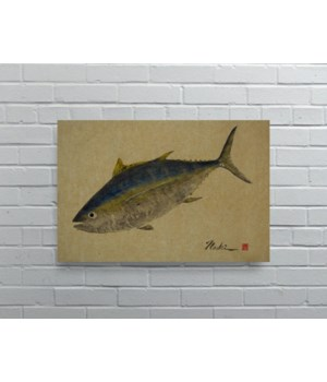 2708 -Naoki Art Collection Hemp Panel-Animals and Nature