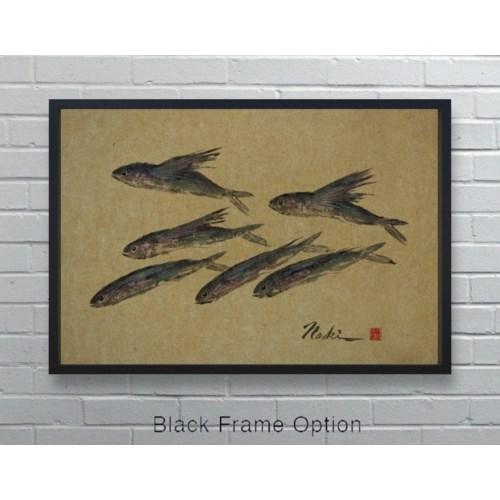 3052  Naoki Art Collection Hemp Panel