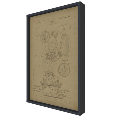 HENTZ BIKE PATENT Hemp Panel