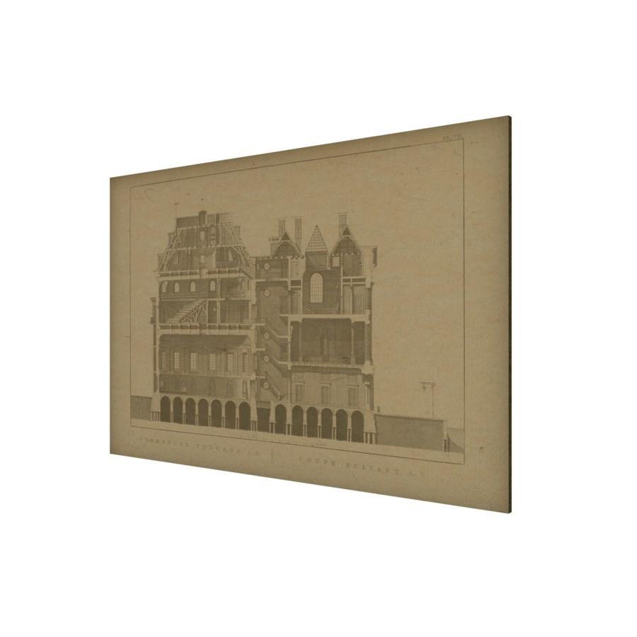 House 03 Hemp Panel