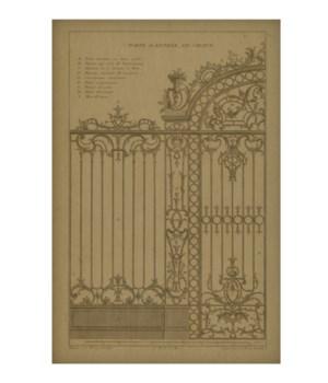 Iron Gate 02 Hemp Panel