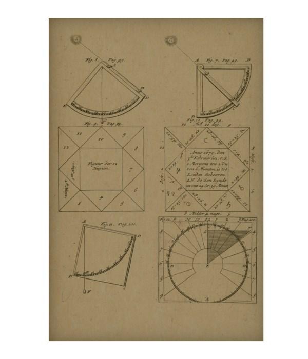 Sun Angle Geometry Hemp Panel