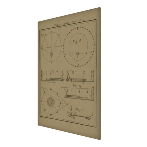 Sun Angle Geometry 02 Hemp Panel
