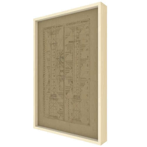 Tuscana Mouldings 02 Hemp Panel