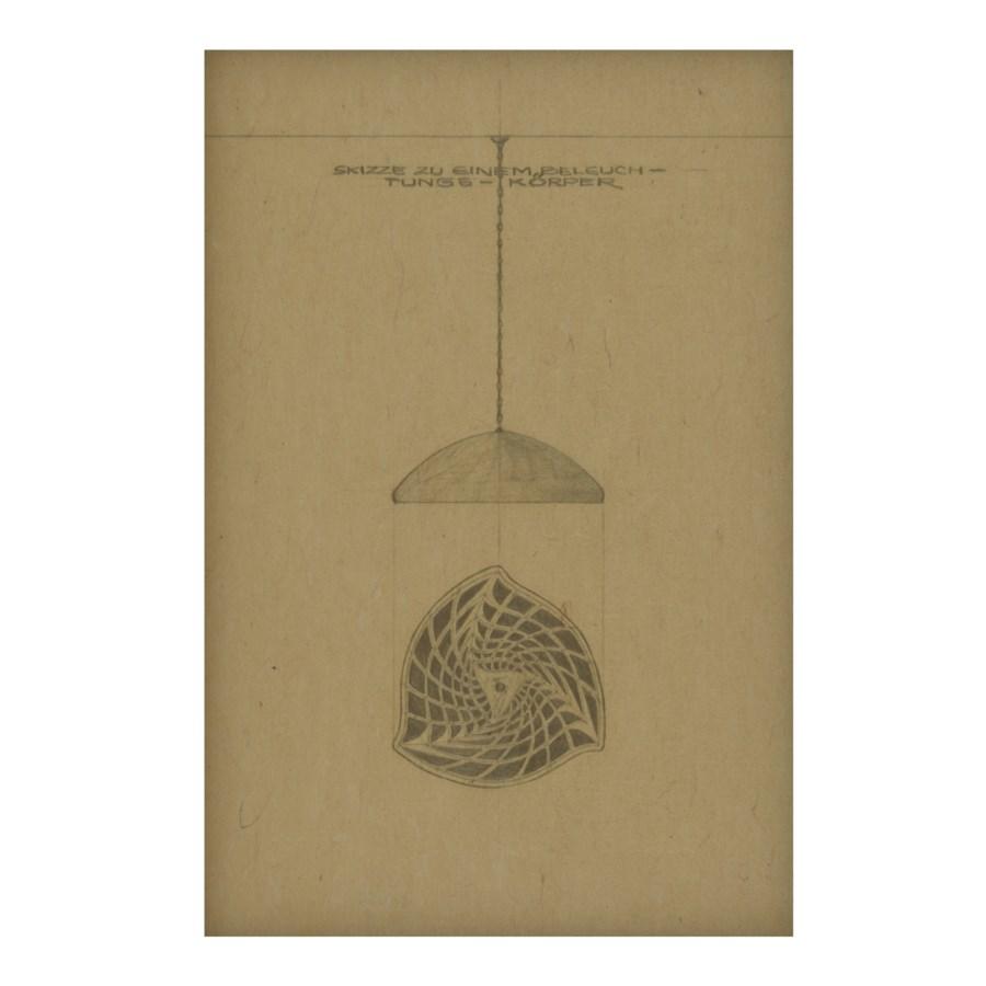 Vintage Lamp Hemp Panel