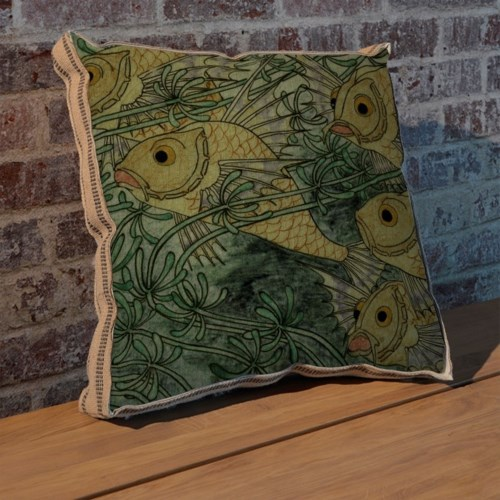 Gold Fish II pillow