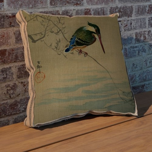 Bird by the Water pillow-Animals and Nature