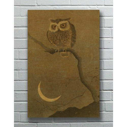 Goodnight Owl hemp art