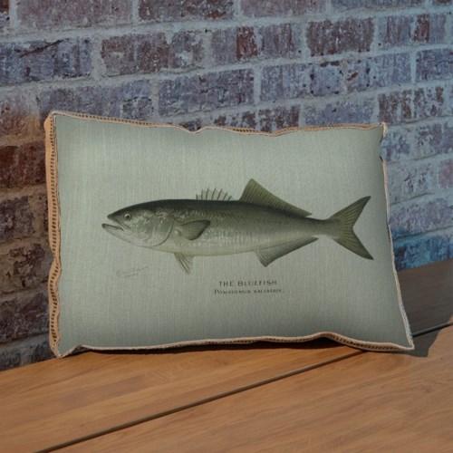 Bluefish pillow-Animals and Nature