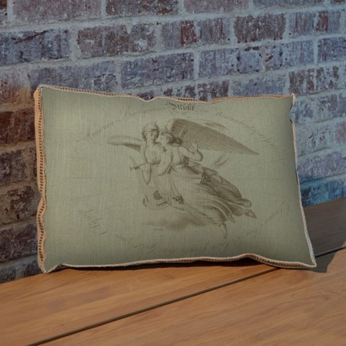 Angel pillow- Fashion and Figurative