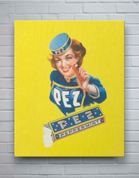 Pez Woman-Fashion and Figurative
