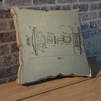 Reel I pillow-Entertainment and Leisure