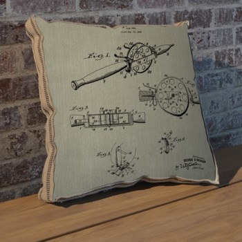 Reel III pillow-Entertainment and Leisure
