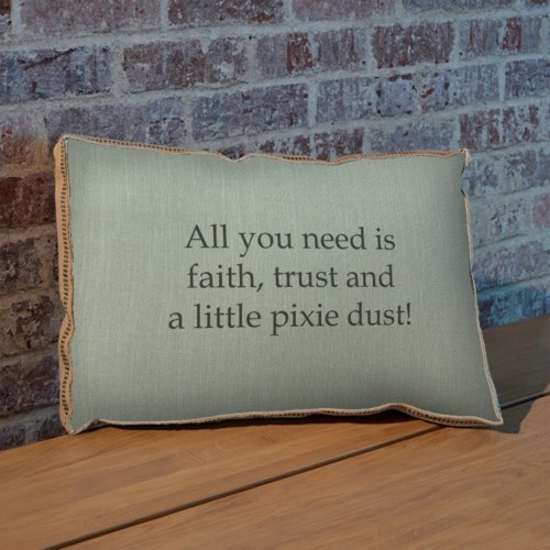 All you need is faith pillow-Holiday and Inspirational
