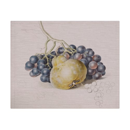 Pear and Grapes -Botanical