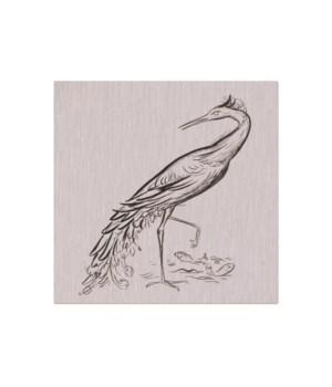 Egret Sketch -Animal