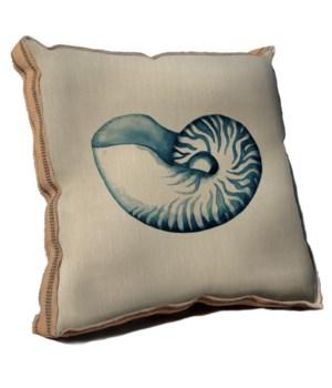 Blue Coastal Life II pillow-Coastal