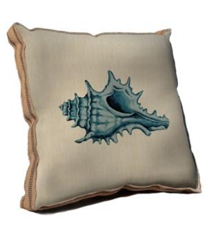 Blue Coastal Life III pillow -Coastal