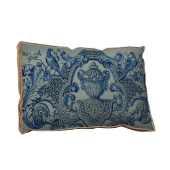 Vintage Pottery pillow-Decorative Elements
