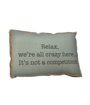 Relax pillow -Holiday Inspirational