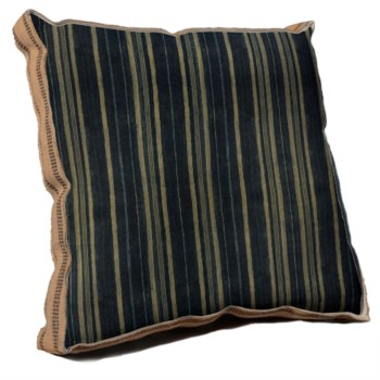 Batik Cloth Stripe pillow - Decorative Elements