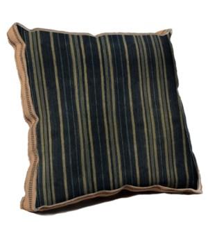 Batik Cloth Stripe pillow - Decorative Elements