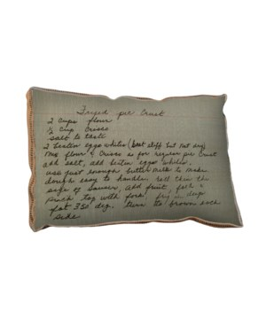 Fried Pie pillow- Inspirational