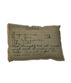 Cornbread pillow-Inspirational