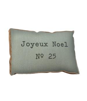 Joyeux Noel pillow-Inspiration and Holiday