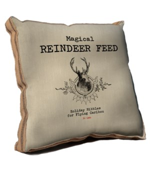 Magical Reindeer Feed pillow-Inspiration and Holiday