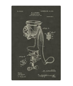 Coffee Mill Securing Device