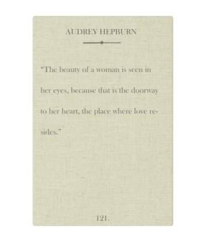 Hepburn Beauty of a Woman
