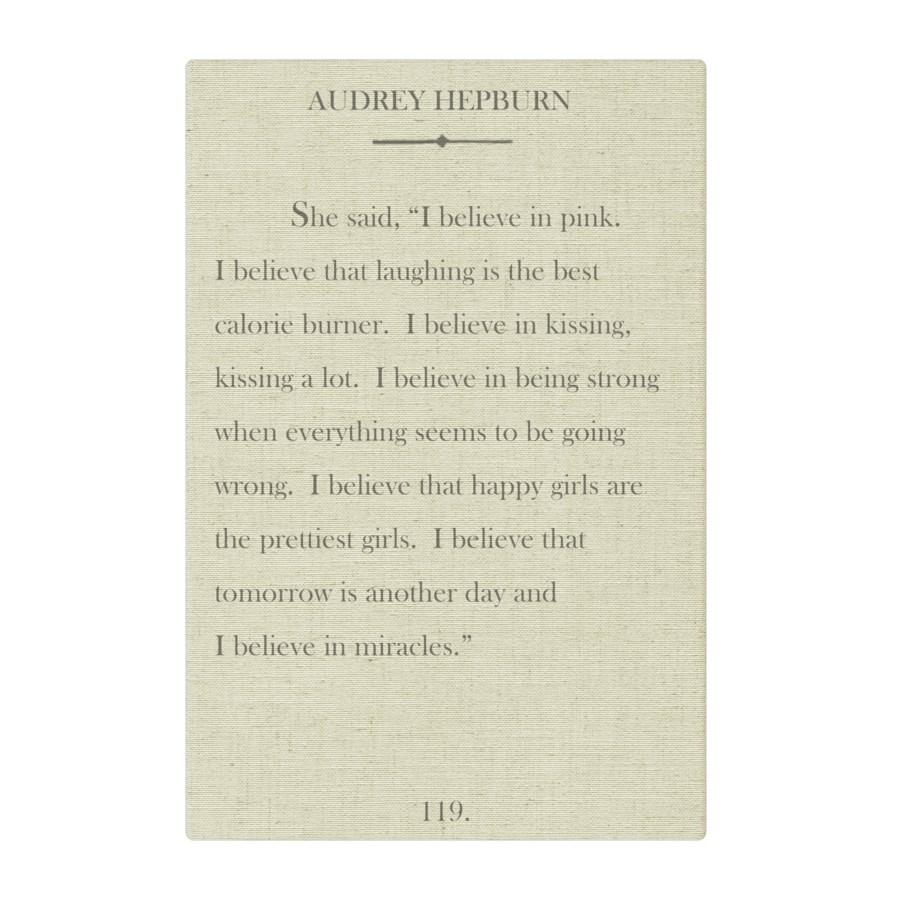 Hepburn I believe