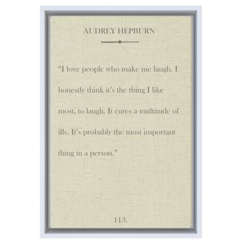 Hepburn I love people